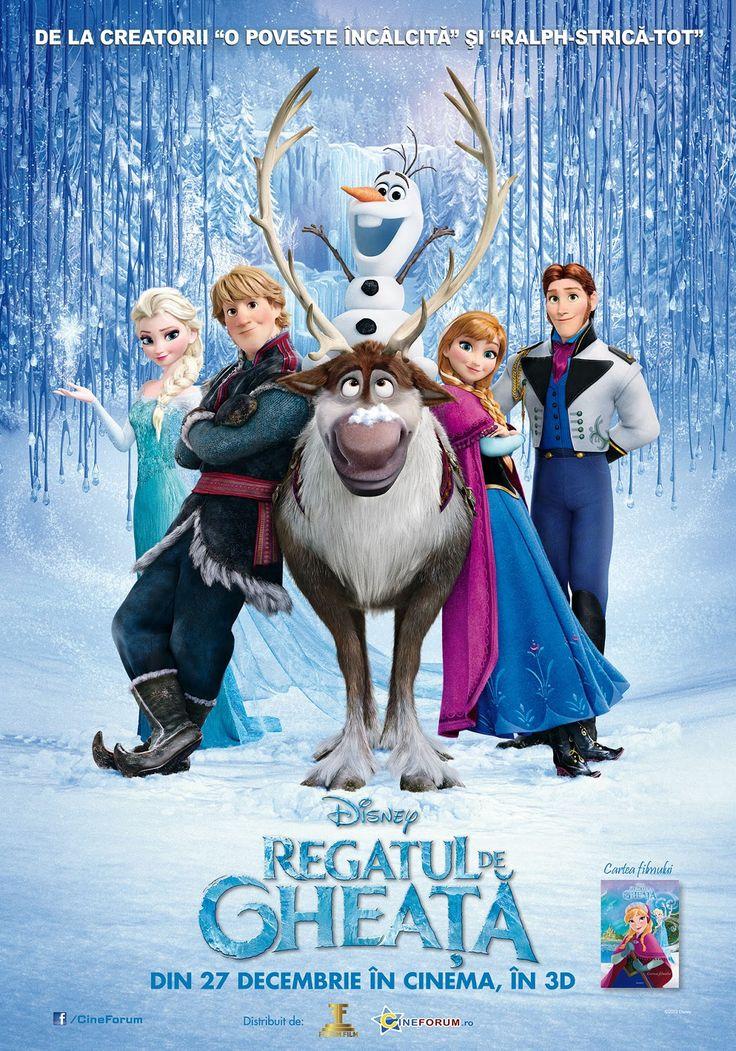 Regatul de gheata (Frozen) 2013 dublat in romana