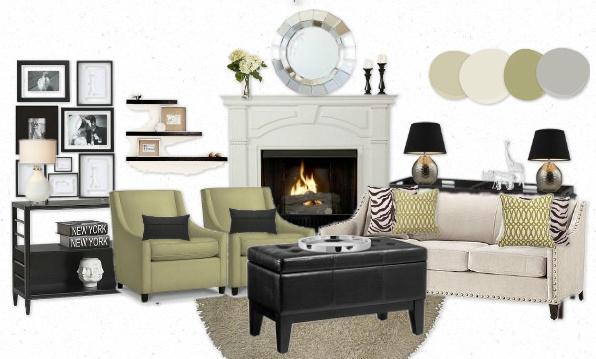 Domestic for Dummies: Mood Board: Tameca's Safari Living Room