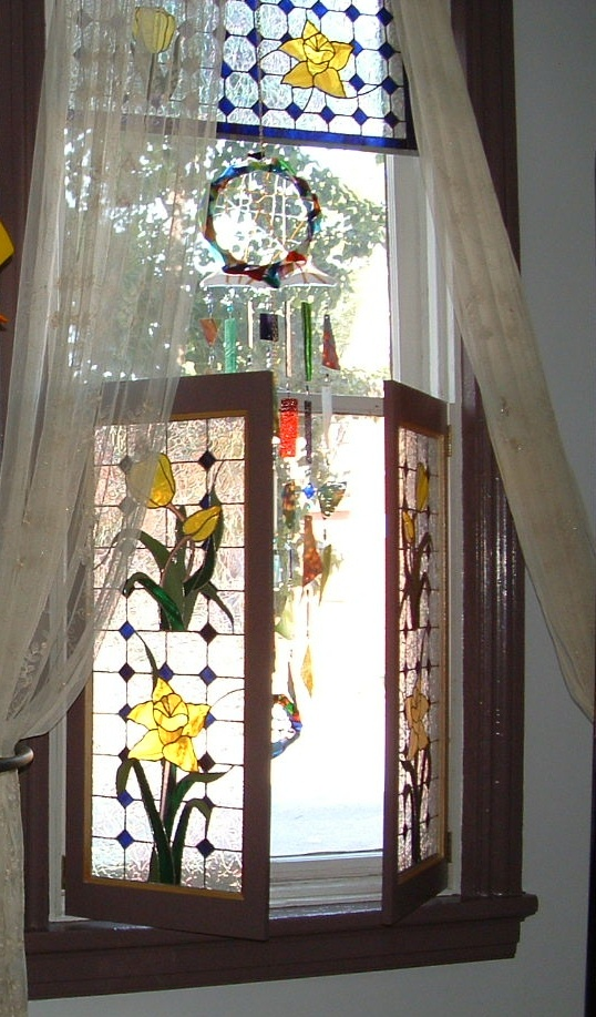 Best 25 Rustic Stained Glass Panels Ideas On Pinterest