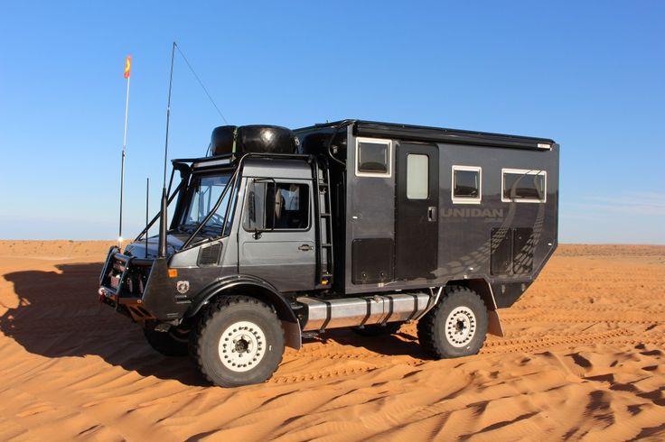Unimog U1300L Expedition Vehicle - Unidan