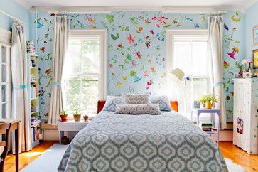 My Houzz: Laurie Rabe - eclectic - Bedroom - Boston - Rikki Snyder