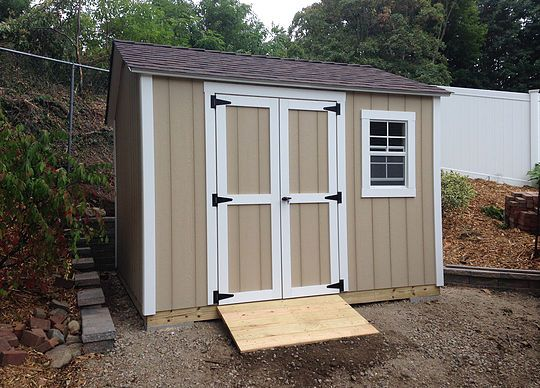We build sheds in Nassau and Suffolk Counties. We are located in Bohemia, NY 11716 Ready Shed also sells shed hardware and shed windows to DIY shed builders