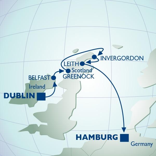 Azamara Cruise Line - 10 Night British Open At Muirfield