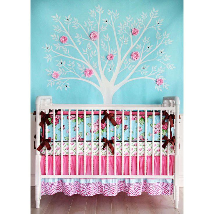 65 Best Baby Girl Nursery Bedding Images On Pinterest