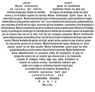 Caligrama de Pablo Neruda: Calligram
