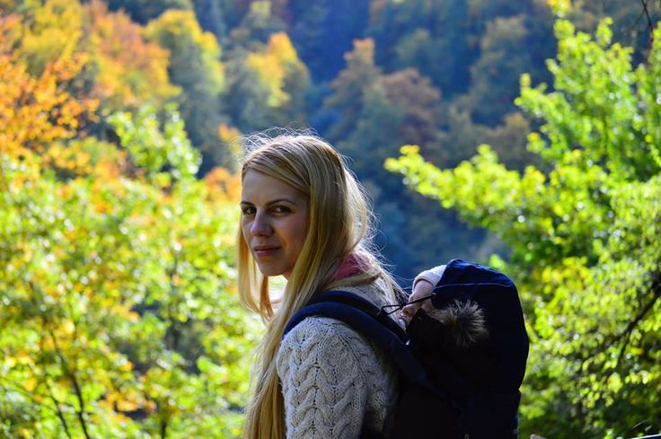 Autumn. October. Babywearing. Brasov. Photo credit : Ilie Sorin