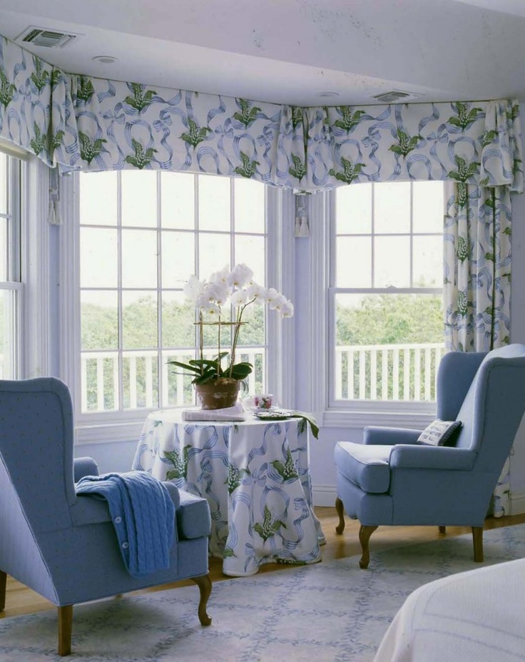 Like The Way The Window Treatment Is At Ceiling Height And The Valance Is  Pretty.