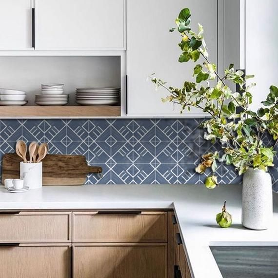 Tile Stickers Tiles For Kitchen Bathroom Back Splash Floor Decals Colorado Vinyl Tile Kitchen Tiles Vinyl Wallpaper