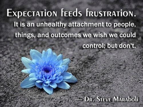 Frustation quote