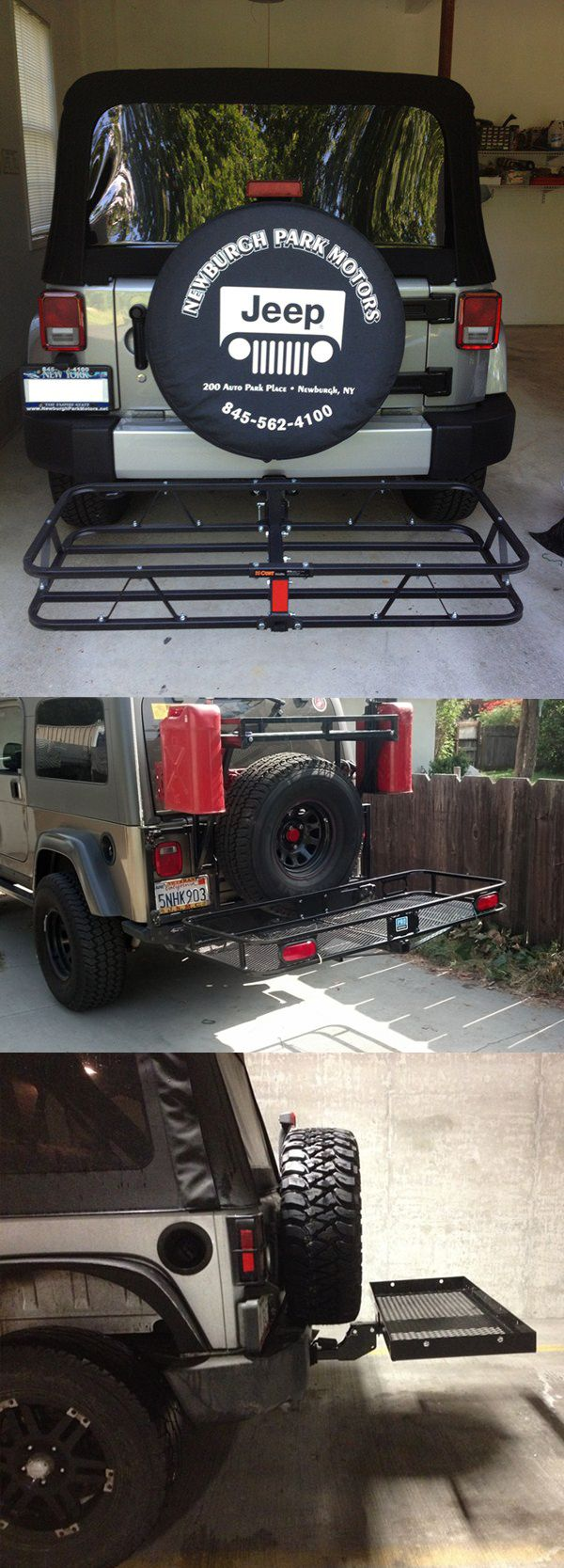 Top 20 Most Popular Jeep Cargo Carriers:  Ensure that your camping, hiking, fishing and other gear needed for a good adventure gets to and from the destination with some heavy-duty cargo carriers!