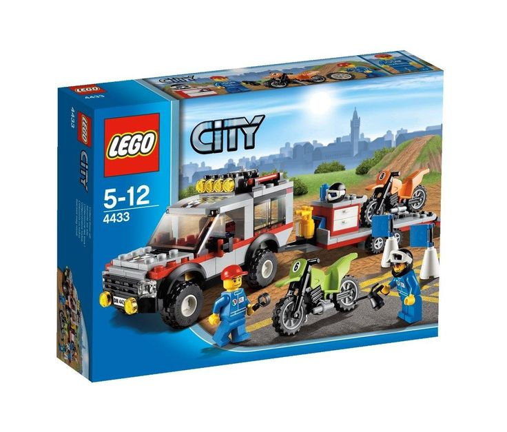 Lego City - 4433 Dirt Bike Transporter