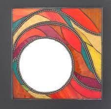 Resultado de imagen para espejos pintados a mano en madera