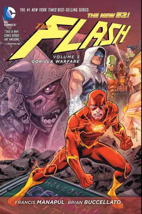 DC Comics The Flash 3: Gorilla Warfare: The New 52