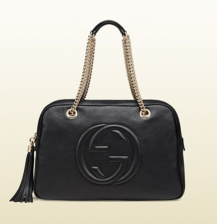 $1,350 One day, this I swear. Gucci - soho leather chain shoulder bag  308983 A7M0G 1000