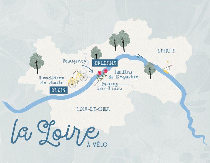 Loire Vlo Nature EN Bike rental France 2014 Pinterest France