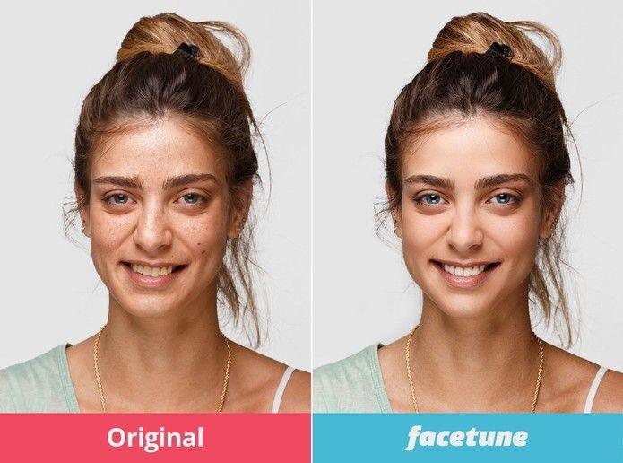 FaceTune: app para Android e iOS promete corrigir suas selfies (Foto: Divulgação/FaceTune)