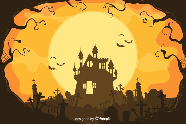 Download Decorative Halloween Background Hand Drawn Style For Free
