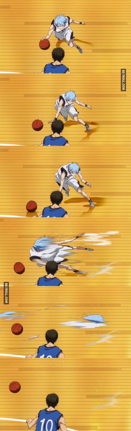 Quand tu joues au basket et que tu changes de dimension sans vouloir