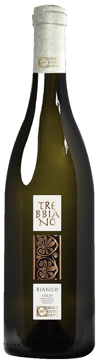TREBBIANO  Il Trebbiano è uno dei vitigni più tipici della regione Lazio ed è sempre stato utilizzato per tagli o per realizzare come nella zona a sud della regione, il Frascati.