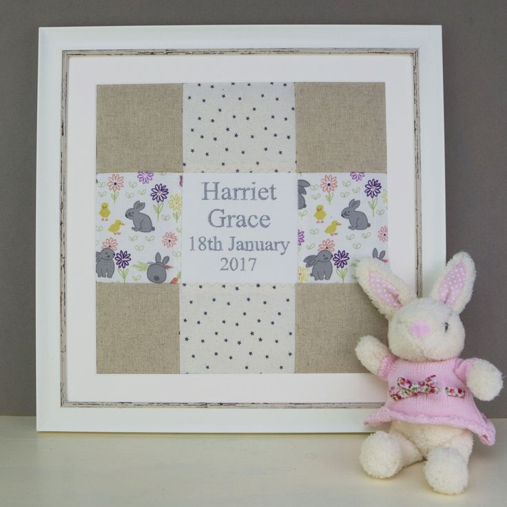 Bunny Name and Date Picture