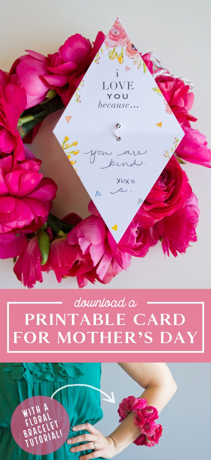 Mother S Day Card Printable Download From Mother S Day Diy