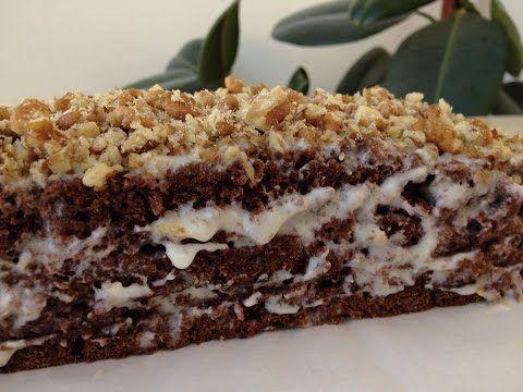 Шоколадный Торт на Кефире - Обалденный и Сочный!!! | Chocolate Cake, English Subtitles - YouTube