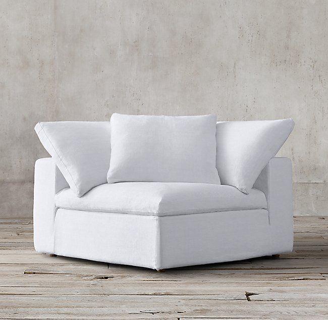 Superb Cloud Modular Fabric Corner Chair Home Design Ideas