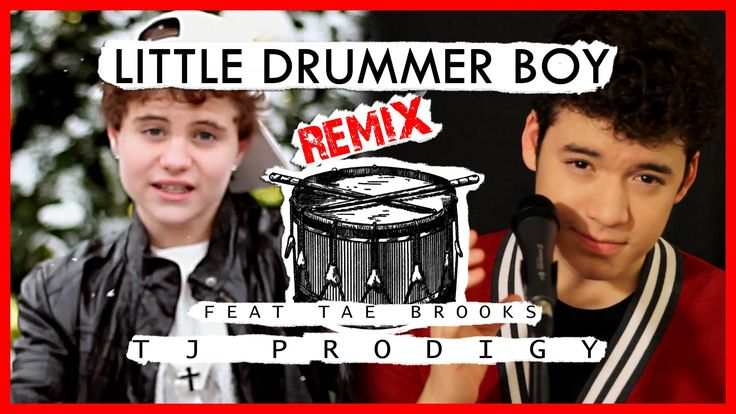 Justin Bieber - Drummer Boy - Cover by TJ Prodigy ft. Tae Brooks Perform...