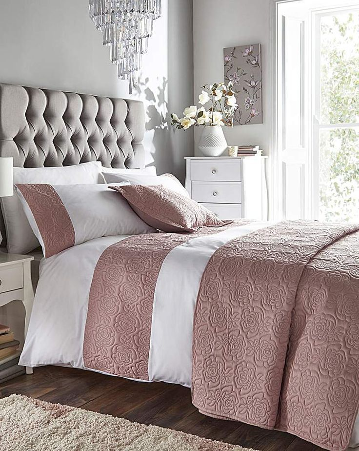 Maria Pink Duvet Cover Set