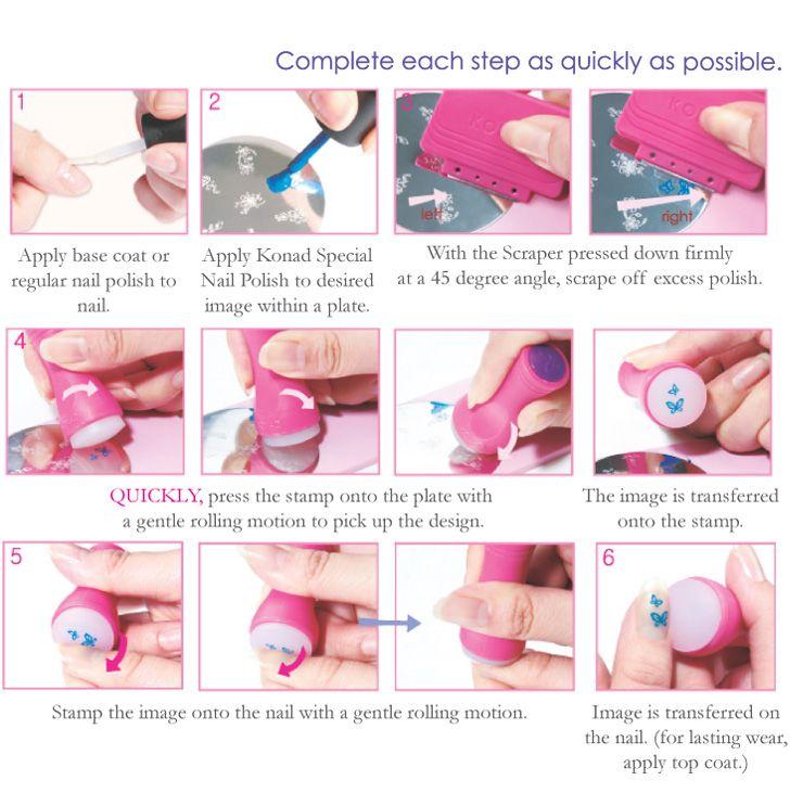 109 best nail stamping art images on Pinterest | Nail stamping, Diy ...