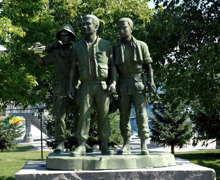 Part of the Memorial to the Viet Nam War