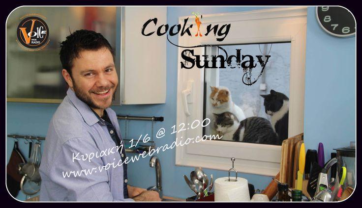 Ευτύχης Μπλέτσας @ Cooking Sunday