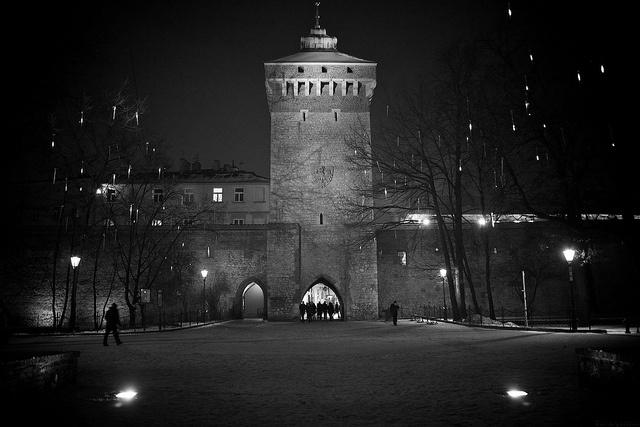 Krakow.Florianska Gate