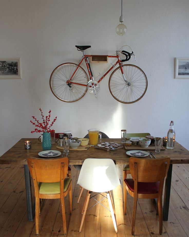 Esstisch_Hagen  Wohnzimmer Esszimmer  #interior #Einrichtung #Holztisch #industrial #bohlentisch