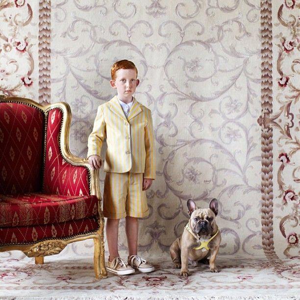 Children & Area Rugs - Chloe Magazine Photoshoot