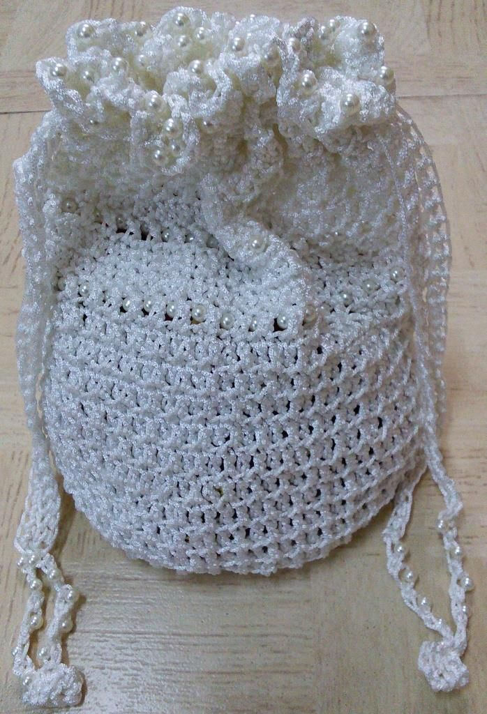 Sweet Nothings Crochet: BEADED POTLI BAG