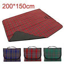 200150CM Waterproof Picnic Blanket Rug Travel Outdoor Beach Camping Mat CampingMat