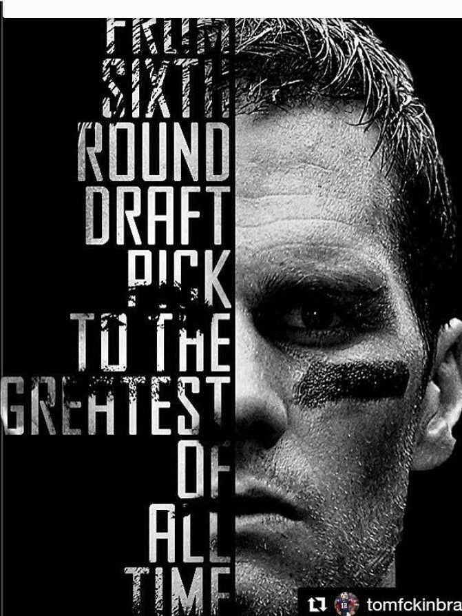 The G.O.A.T, my QB TB12. There will never be anyone like him. Can't duplicate GREATNESS!!!!