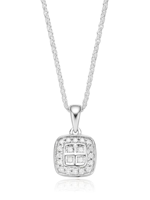 Spoil her this Valentine's Day with a diamond necklace from Zamels. #jewellery #fashion #diamonds