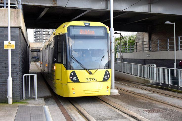 Etihad Campus. Manchester Metrolink.