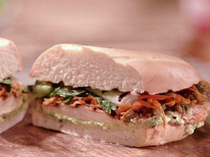 Mojo Chicken Torta Recipe : Jeff Mauro : Food Network - FoodNetwork.com