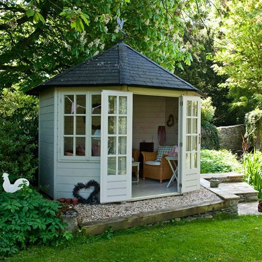 65 best garden rooms outdoor office images on pinterest for Pinterest outdoor garden rooms