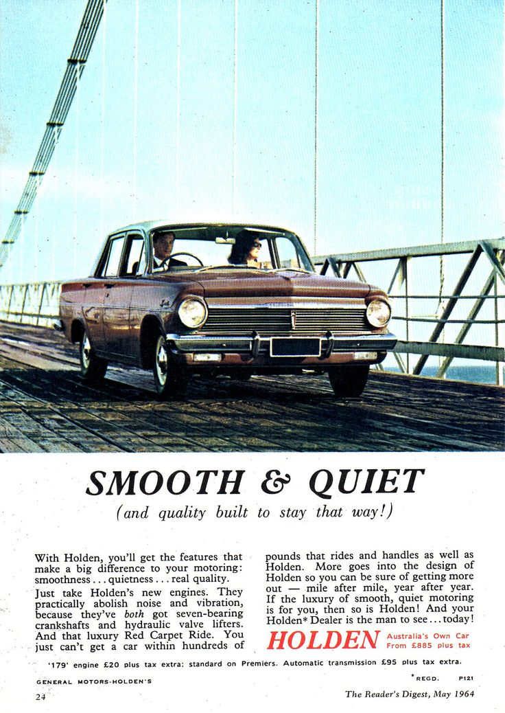 https://flic.kr/p/ZUmgbD | 1964 EH Holden Special Aussie Original Magazine Advertisement