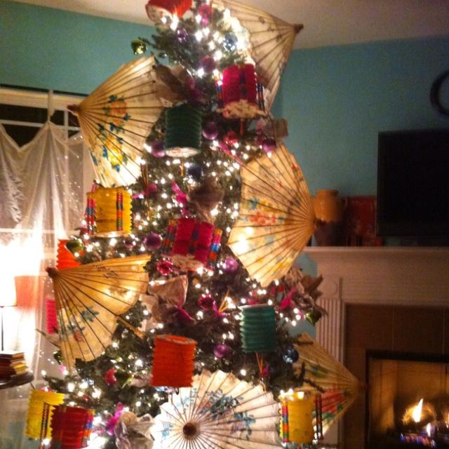 Asian Christmas tree
