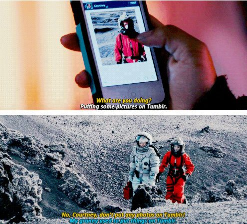 8x07 Kill The Moon [gifset] - Putting pictures on tumblr. - Clara Oswald, Courtney, Doctor Who