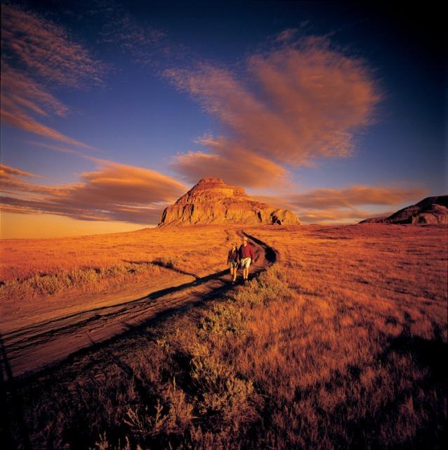 Who knew this was in Saskatchewan??? :) Big Muddy Badlands SK