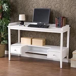 White Lena Desk