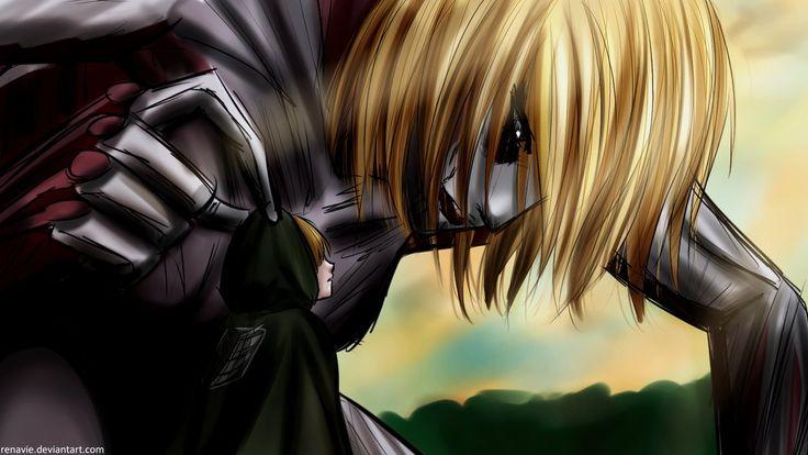 Armin y Titan femenina por Renavie