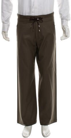Louis Vuitton Wool Cropped Pants