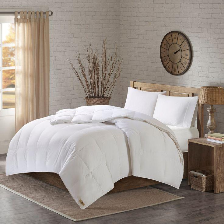 Woolrich Down 3M Scotchgard 300 Thread Count Comforter, White
